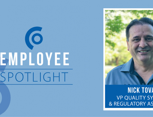 Getting to Know VP of Quality Systems and Regulatory Assurance, Nick Tovar
